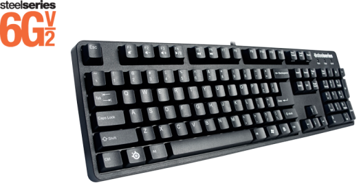 Image from Steelseries This keyboard has a solid metal backplate :D